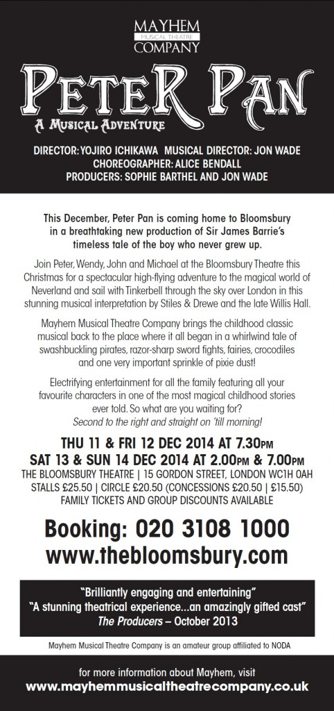 Peter Pan flyer-back-b